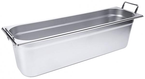 GN-Behälter mit Fallgriffen 2/4 Tiefe: 150 mm Volumen: 8,5 l
