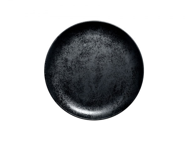RAK Teller flach coupe Ø 24 cm FUSION / KARBON (KRNNPR24)