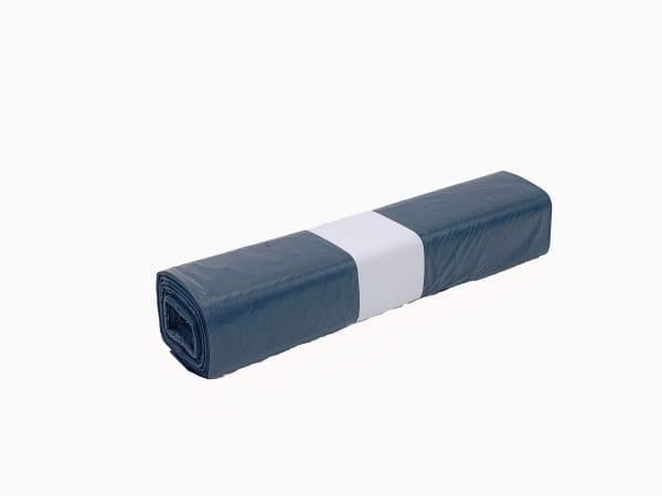 LDPE-Abfallsäcke 120 l 700 x 1100 mm Typ 70 gerollt blau