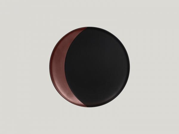 RAK Teller tief rund D. 24 cm METALFUSION bronze