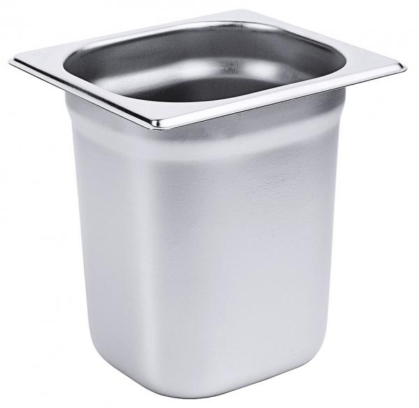 GN-Behälter 1/6 Tiefe: 200 mm Volumen: 3,4 l